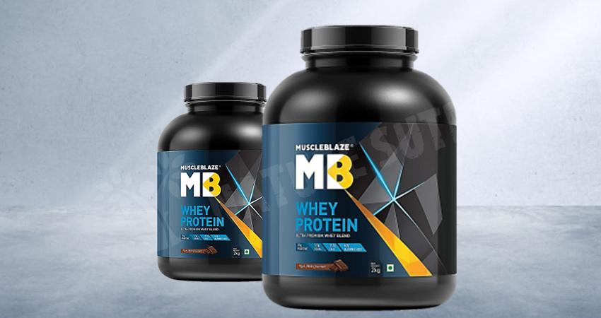 MuscleBlaze Raw Whey Protein 80%