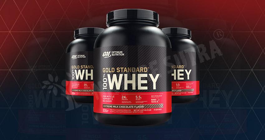 Optimum Nutrition (ON) Gold Standard 100% Whey