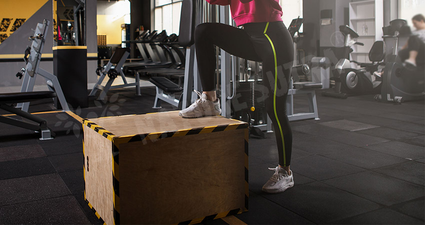 Step-up Workout for Woman