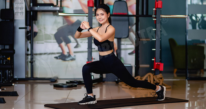 Dynamic Lunge Body Transformation Workout Plan For Women