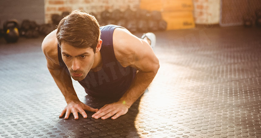 Diamond Push-Up - Best Triceps Workouts