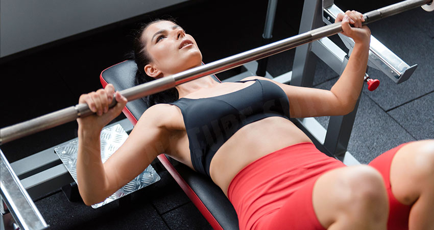 The Barbell Bench Press - Best Lower Chest Exercise