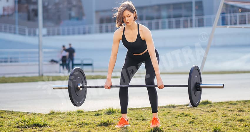 Barbell Row Exercise/Workout