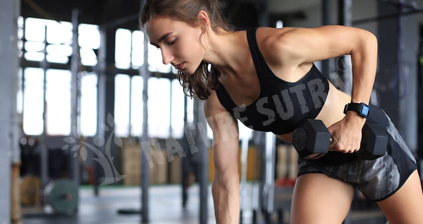Dumbbell Row Exercise/Workout