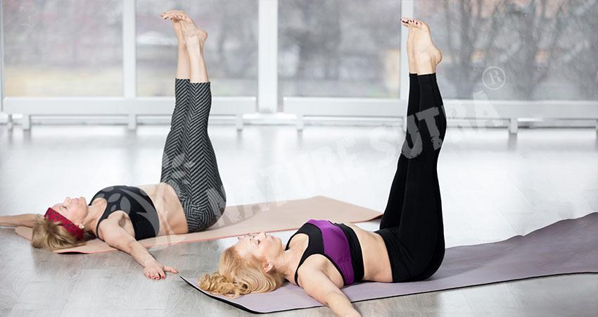 Vertical Leg Raises Exercise