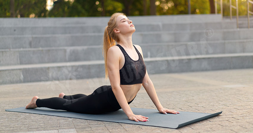 Cobra Pose an exercise to increase height