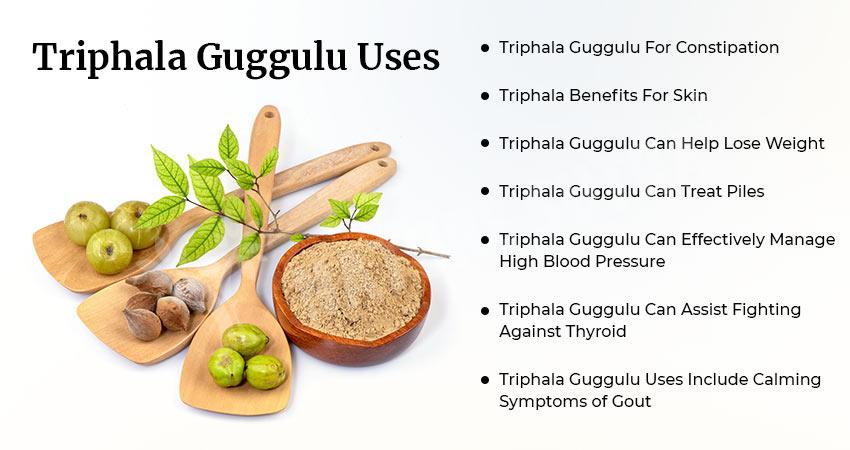 Uses of Triphala Guggulu