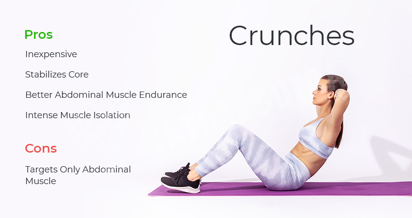 Pros and Cons of Crunches