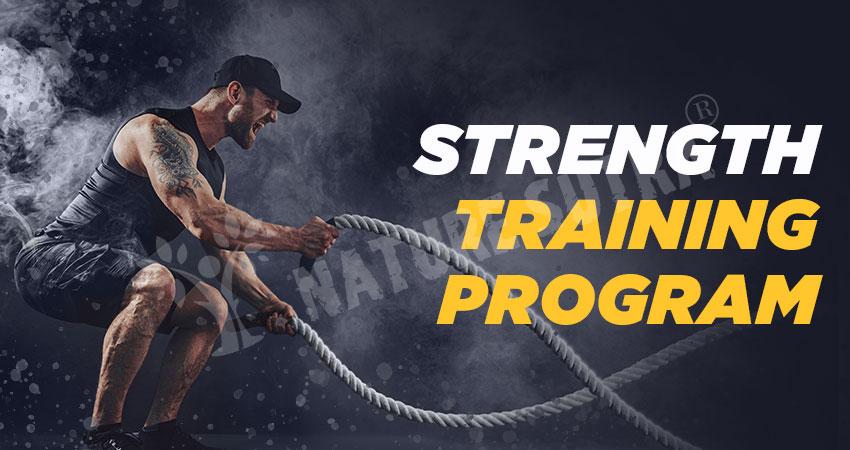 12-week strength training program