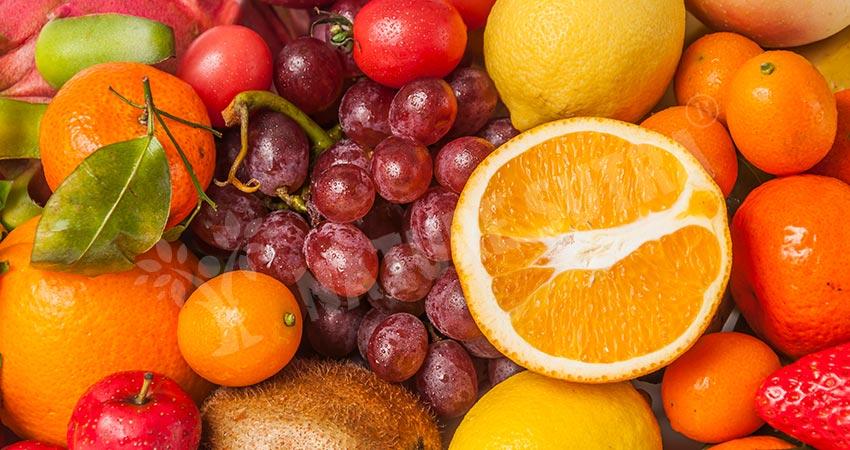 Eat Plenty of Colorful Veggies and Fruits